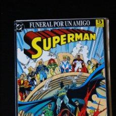 Cómics: SUPERMAN. FUNERAL POR UN AMIGO. ZINCO. VER FOTOGRAFÍAS. Lote 108819531