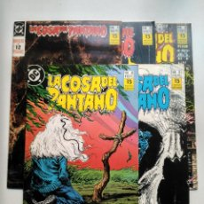 Cómics: LOTE SERIE LIMITADA LA COSA DEL PANTANO 1, 2, 3, 4, 5. Lote 108885575