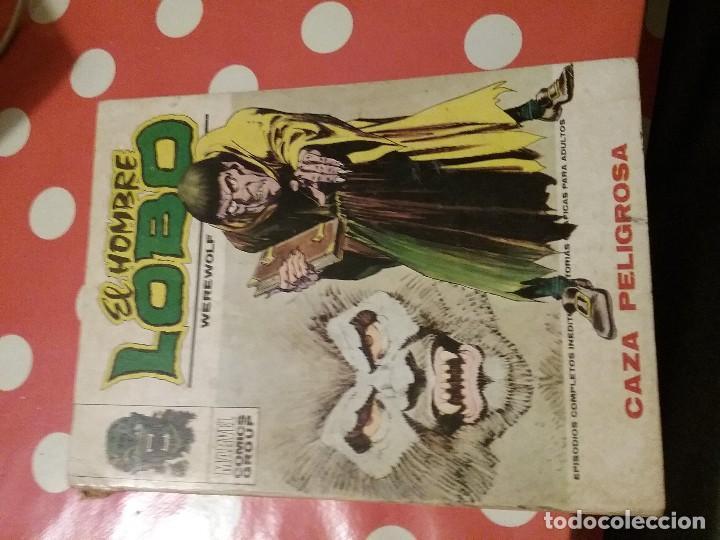 EL HOMBRE LOBO. WEREWOLF BY NIGHT Nº3: CAZA PELIGROSA. EDICIONES VERTICE (Tebeos y Comics - Zinco - Lobo)