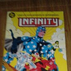Cómics: INFINITY INC RETAPADO Nº 2 Nº 6 AL 10. Lote 109210187