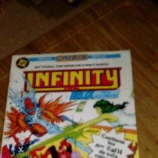 Cómics: INFINITY INC RETAPADO Nº 3 Nº 11 AL 14. Lote 109210307