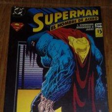 Cómics: SUPERMAN EL HOMBRE DE ACERO RETAPADO 12 AL 14. Lote 109312071