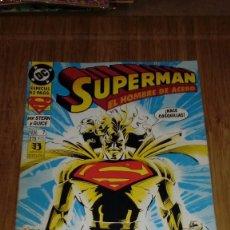 Cómics: SUPERMAN EL HOMBRE DE ACERO Nº 7. Lote 109312267