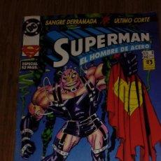 Cómics: SUPERMAN EL HOMBRE DE ACERO Nº 8. Lote 109312531
