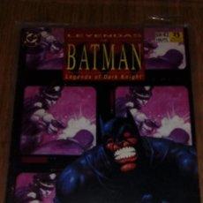 Cómics: LEYENDAS DE BATMAN Nº 42. Lote 109312915
