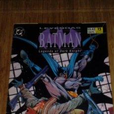 Cómics: LEYENDAS DE BATMAN Nº 43. Lote 109312967
