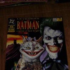 Cómics: LEYENDAS DE BATMAN Nº 44 ÚLTIMO DE LA COLECCIÓN. Lote 109313071