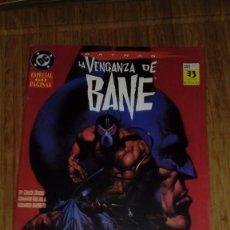 Cómics: BATMAN LA VENGANZA DE BANE. Lote 109314259