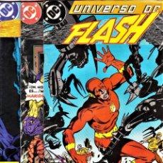 Cómics: FLASH: SAGA COMPLETA DE LA COLECCIÓN UNIVERSO DC Nº 7, 8 Y 9. ZINCO, 1989.. Lote 109402655