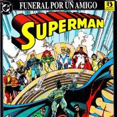 Cómics: SUPERMAN. FUNERAL POR UN AMIGO. 1993 EDICIONES ZINCO. Lote 109437475