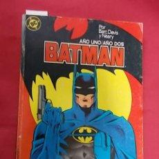Cómics: BATMAN. AÑO UNO / AÑO DOS. TOMO RETAPADO. OBRA COMPLETA. EDICIONES ZINCO.. Lote 109463875
