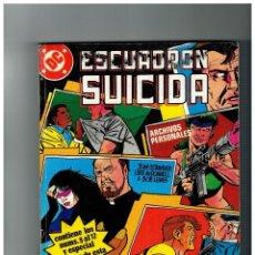 Cómics: ESCUADRÓN SUICIDA TOMO 3. RETAPADO CON LOS NÚMEROS 9,10,11,12 Y ESPECIAL VERANO. Lote 109483451