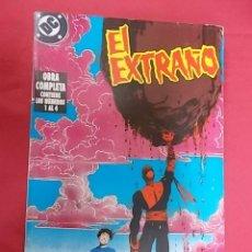 Cómics: EL EXTRAÑO. OBRA COMPLETA EN TOMO RETAPADO. DEL Nº 1 AL 4. EDICIONES ZINCO.. Lote 109500707