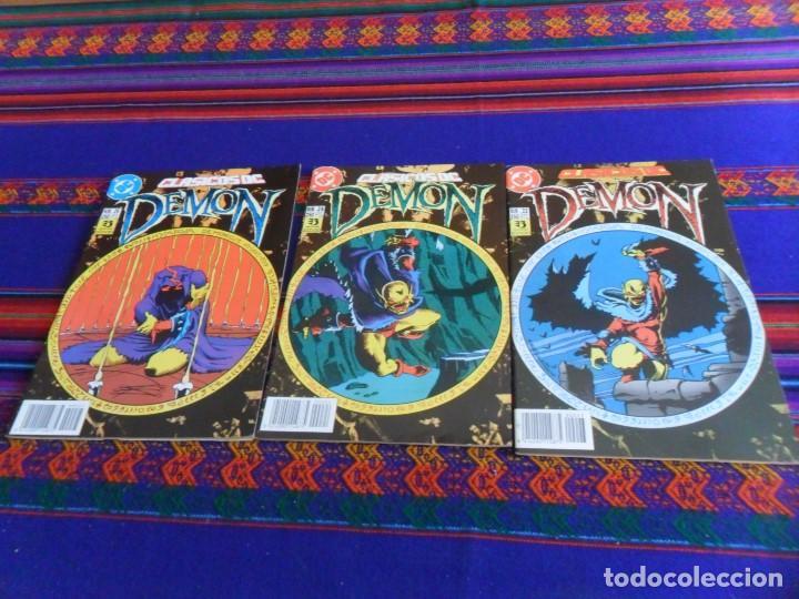 ZINCO CLÁSICOS DC NºS 23, 24 Y 25 CON DEMON Y COSA DEL PANTANO. 1990. 250 PTS. MBE. (Tebeos y Comics - Zinco - Cosa del Pantano)