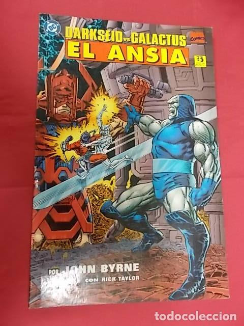 DARKSEID VS. GALACTUS. EL ANSIA. EDICIONES ZINCO. (Tebeos y Comics - Zinco - Prestiges y Tomos)