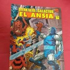 Cómics: DARKSEID VS. GALACTUS. EL ANSIA. EDICIONES ZINCO.. Lote 109997191