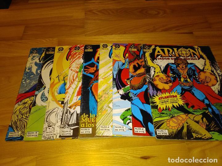 LOTE COLECCION CASI COMPLETA DC ZINCO ARION. NUMEROS DEL 1 AL 9 (Tebeos y Comics - Zinco - Otros)