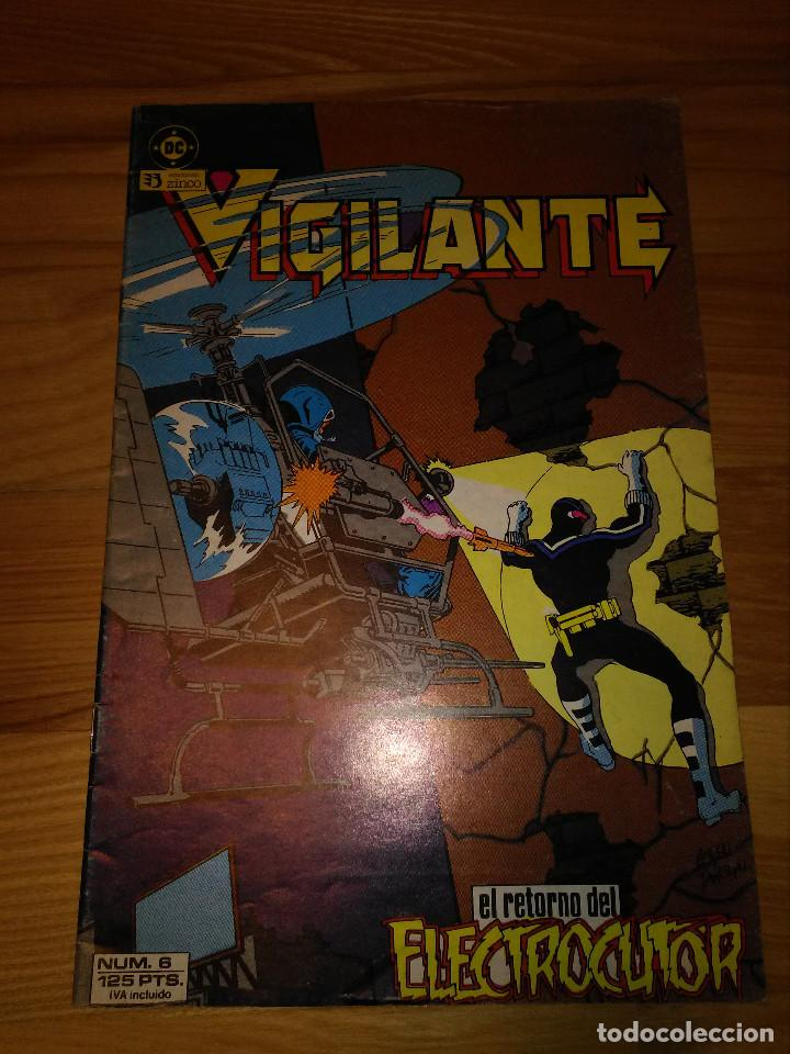COMIC ZINCO DC EL VIGILANTE Nº 6 (Tebeos y Comics - Zinco - Otros)