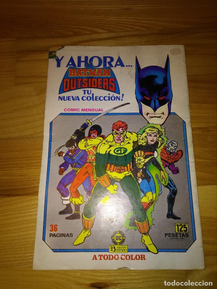 Cómics: Comic Zinco Dc El Vigilante nº 6 - Foto 2 - 110019655
