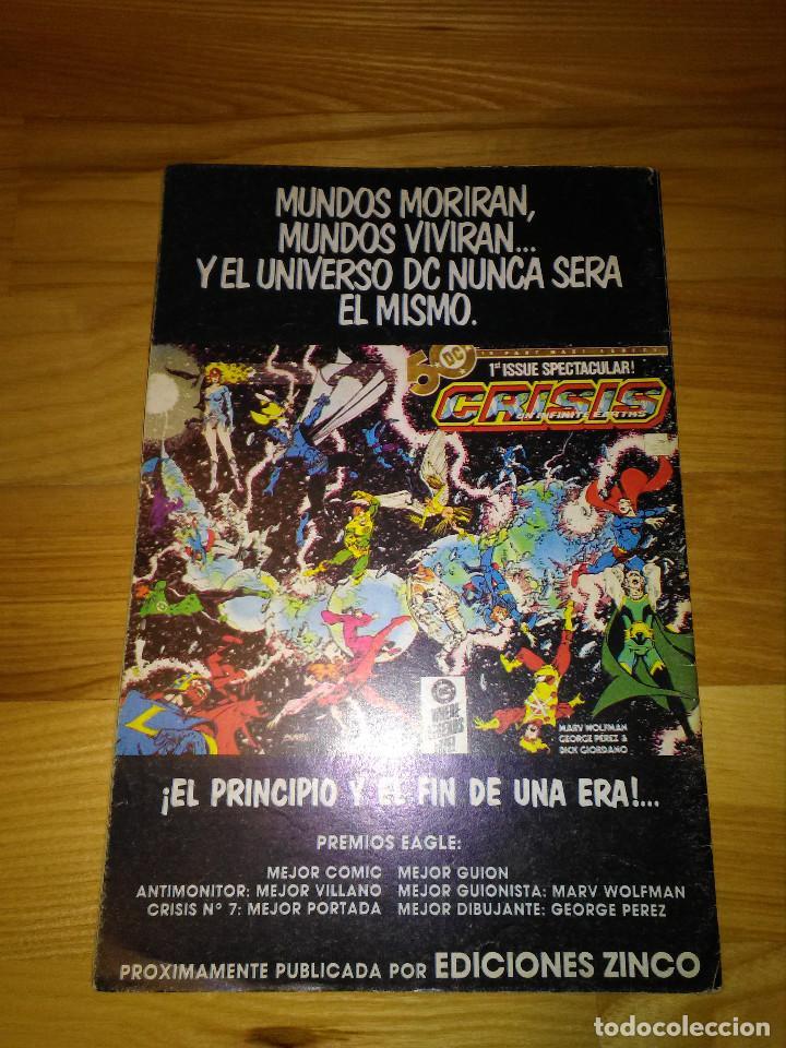 Cómics: Comic Zinco Dc El Vigilante nº 12 - Foto 2 - 110019739