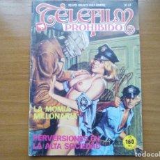Cómics: ZINCO: TELEFILM PROHIBIDO, Nº 63, COMIC EROTICO PARA ADULTOS . Lote 110022839