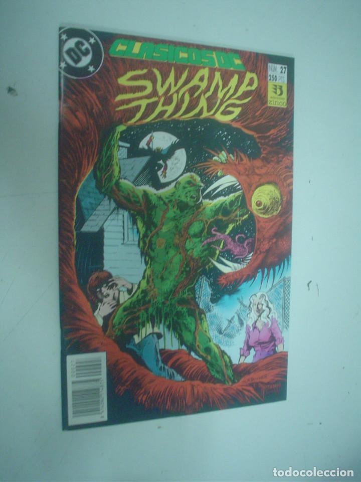 CLÁSICOS DC Nº 27 - SWAMP THING (Tebeos y Comics - Zinco - Cosa del Pantano)