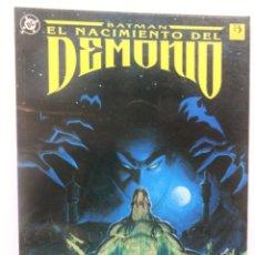Cómics: BATMAN. EL NACIMIENTO DEL DEMONIO. ZINCO. 1993. Lote 110416267