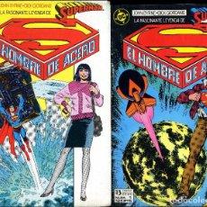 Cómics: SUPERMAN COLECCION COMPLETA 123 Nº + 7 EXTRAS JERRY ORDWAY Y JOHN BYRNE AÑO 1987/1991 1ª EDICIÓN. Lote 110449483