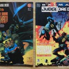 Cómics: COMIC DC Nº1 BATMAN JUDGE DREDD JUICIO SOBRE GOTHAM VENDETTA EN GRANT JOHN WAGNER SIMON BISLEY ZINCO. Lote 110449627