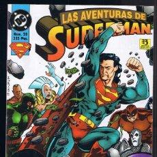 Cómics: SUPERMAN - LAS AVENTURAS DE SUPERMAN Nº 28 DC COMICS. EDICIONES ZINCO.. Lote 110642827