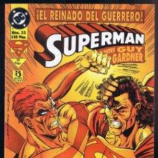 Cómics: SUPERMAN - SUPERMAN CONTRA GUY GARDNER Nº 32 DC COMICS. EDICIONES ZINCO.. Lote 110643015