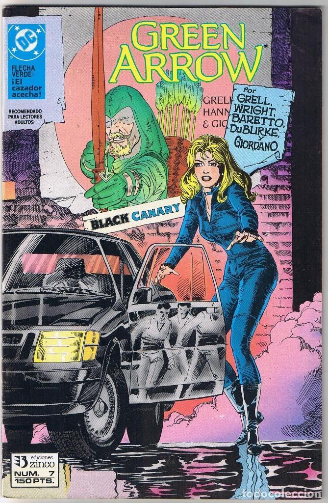 GREEN ARROW FLECHA VERDE Nº 7 DC COMICS. EDICIONES ZINCO. (Tebeos y Comics - Zinco - Otros)