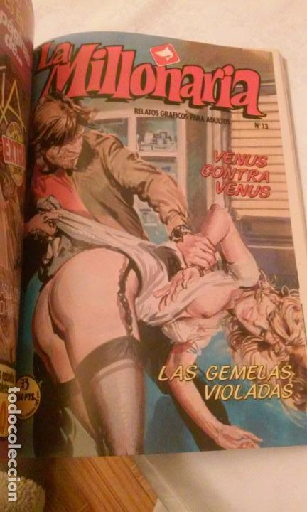 Cómics: LA MILLONARIA Y ESCANDALOS DE HOLLYWOOD (RETAPADOS,4 COMICS POR TOMO) RELATOS GRAFICOS PARA ADULTOS - Foto 8 - 110830775