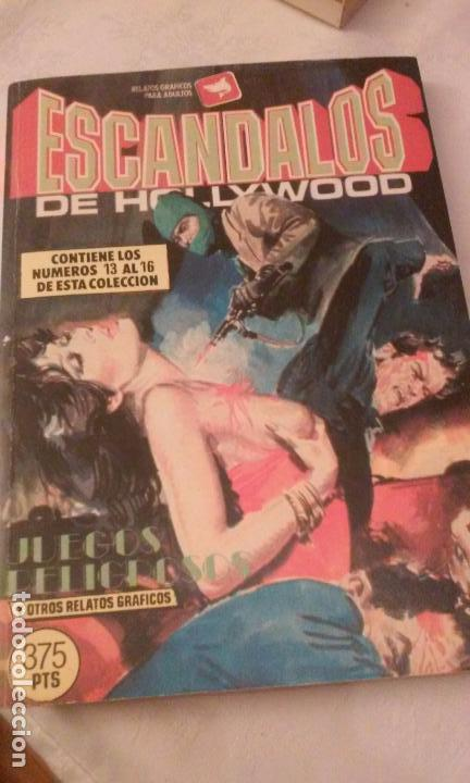 Cómics: LA MILLONARIA Y ESCANDALOS DE HOLLYWOOD (RETAPADOS,4 COMICS POR TOMO) RELATOS GRAFICOS PARA ADULTOS - Foto 11 - 110830775