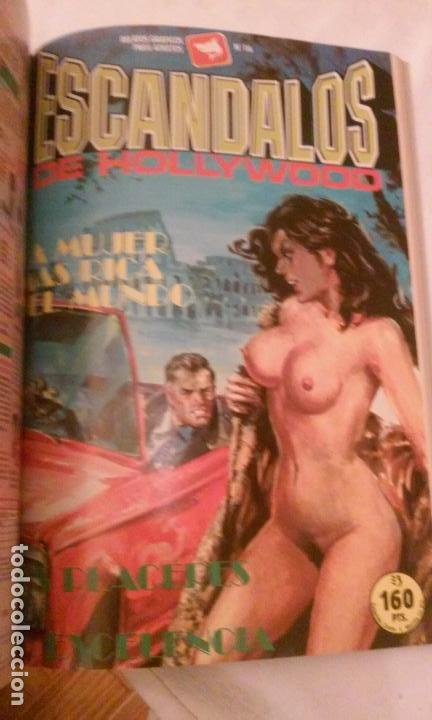 Cómics: LA MILLONARIA Y ESCANDALOS DE HOLLYWOOD (RETAPADOS,4 COMICS POR TOMO) RELATOS GRAFICOS PARA ADULTOS - Foto 17 - 110830775