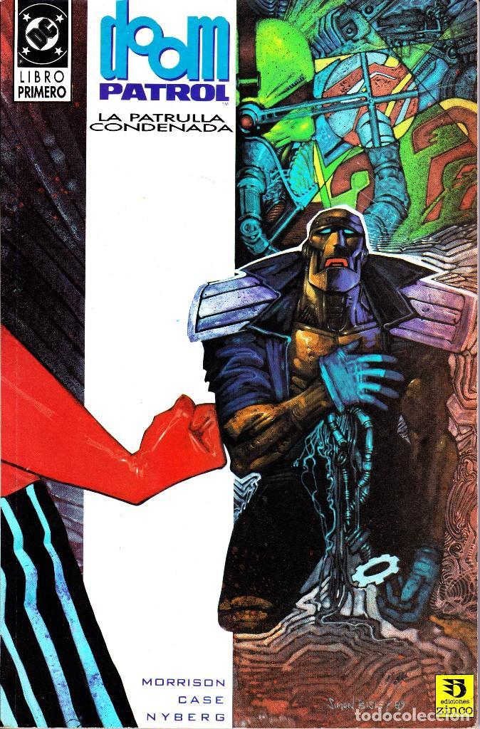 DOOM PATROL. LA PATRULLA CONDENADA. 1 Y 2. 1992 ZINCO (Tebeos y Comics - Zinco - Patrulla Condenada)