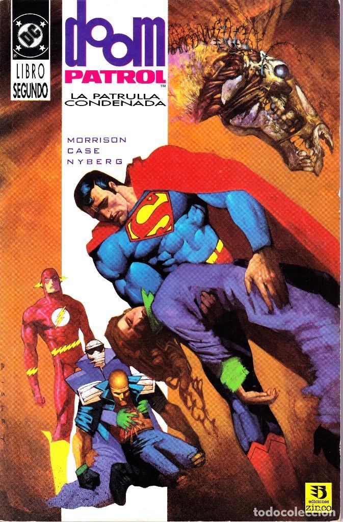 Cómics: DOOM PATROL. LA PATRULLA CONDENADA. 1 Y 2. 1992 ZINCO - Foto 2 - 110934795