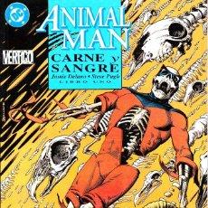Cómics: ANIMAL MAN. CARNE Y SANGRE. 1 AL 3. COMPLETA. ZINCO 1993. Lote 110935415