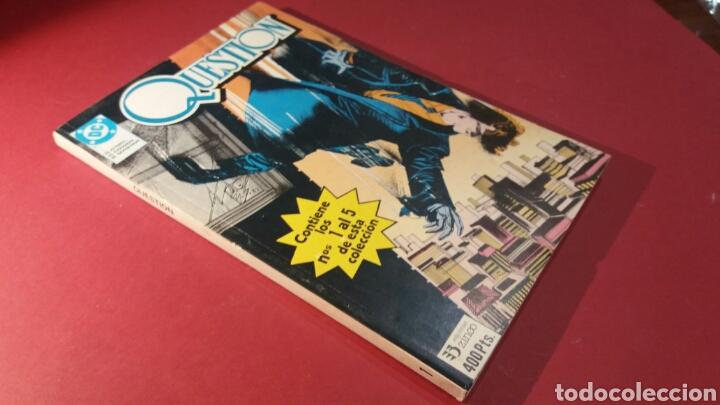 QUESTION 1 CASI EXCELENTE ZINCO DC (Tebeos y Comics - Zinco - Retapados)