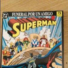 Cómics: SUPERMAN FUNERAL POR UN AMIGO PRESTIGIO EDICIONES ZINCO . Lote 111061495