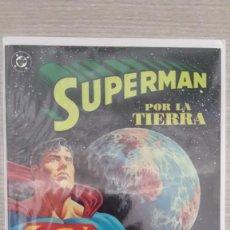 Cómics: SUPERMAN POR LA TIERRA TOMO ÚNICO RÚSTICA (ZINCO). Lote 111127647