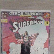 Cómics: SUPERMAN ANUAL OTROS MUNDOS GRAPA (ZINCO). Lote 111134283