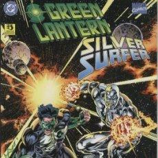 Cómics: GREEN LANTERN & SILVER SURFER. ZINCO. RUSTICA. Lote 151537212