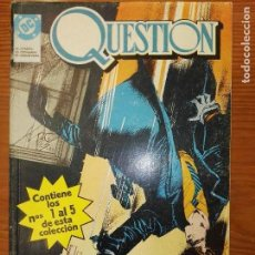 Comics : QUESTION DEL 1 AL 5 TOMO 1. Lote 111188963