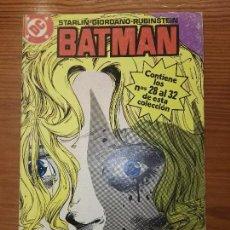 Cómics: BATMAN DEL 28 AL 32 TOMO 6. Lote 111191447