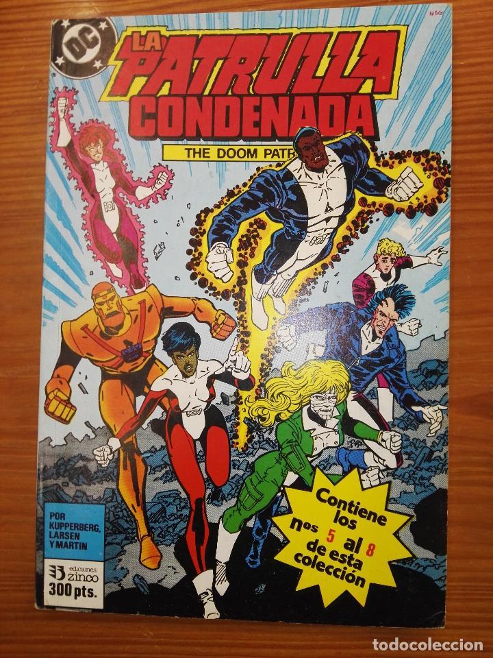LA PATRULLA CONDENANDA DEL 5 AL 8 TOMO 2 (Tebeos y Comics - Zinco - Retapados)