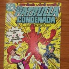Cómics: LA PATRULLA CONDENANDA DEL 9 AL 12 TOMO 3. Lote 111192287