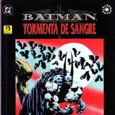 Cómics: BATMAN TORMENTA DE SANGRE. ELSEWORLDS. 1996 ZINCO.. Lote 111515095