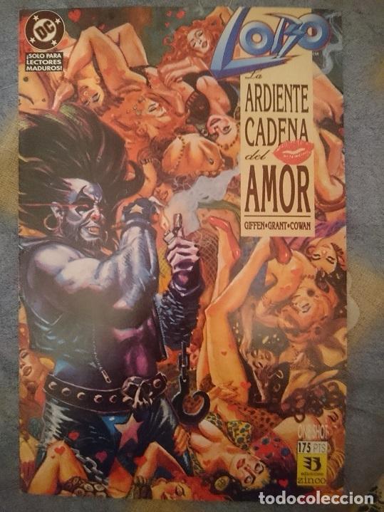 COMIC - LOBO - ARDIENTE CADENA DEL AMOR (Tebeos y Comics - Zinco - Lobo)