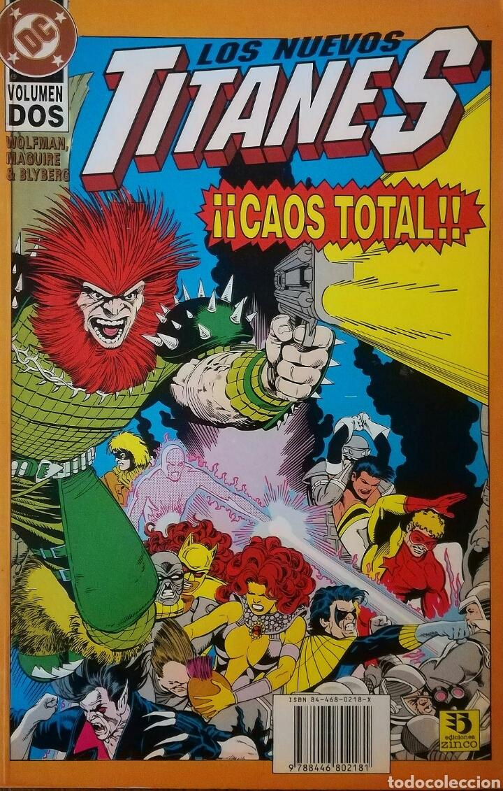 LOS NUEVOS TITANES CAOS TOTAL (Tebeos y Comics - Zinco - Nuevos Titanes)